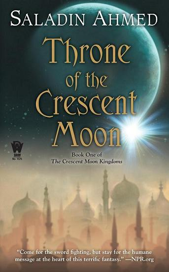cover - throne of the crescent moon