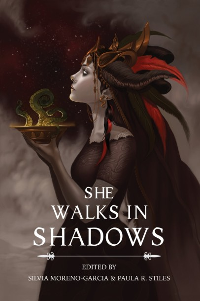 she walks in shadows cover