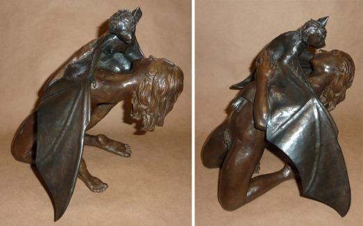Delicious, Delicious sculpture